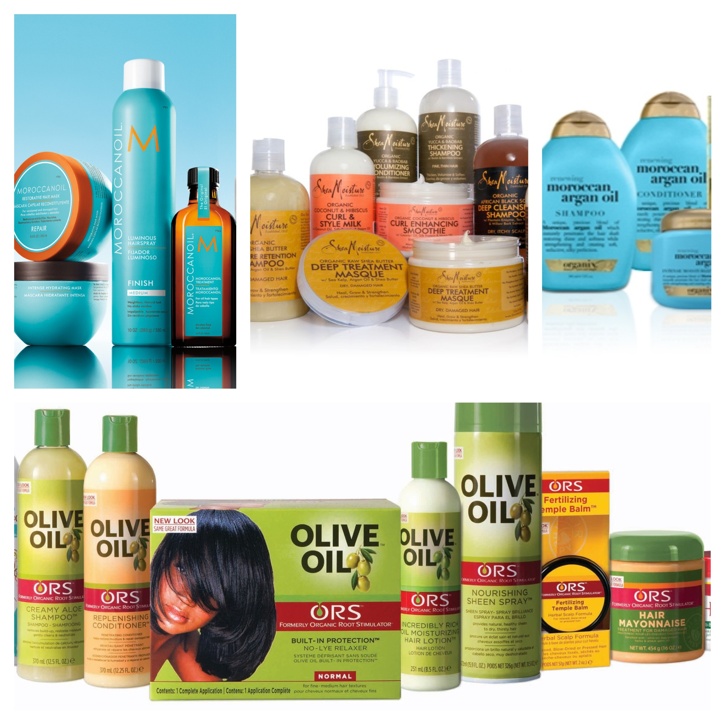 Hair Products for Healthy Relaxed Hair - Healthy and Relaxed
